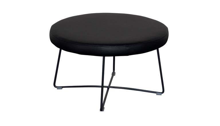 Wired ottoman (round, square and rectangular)